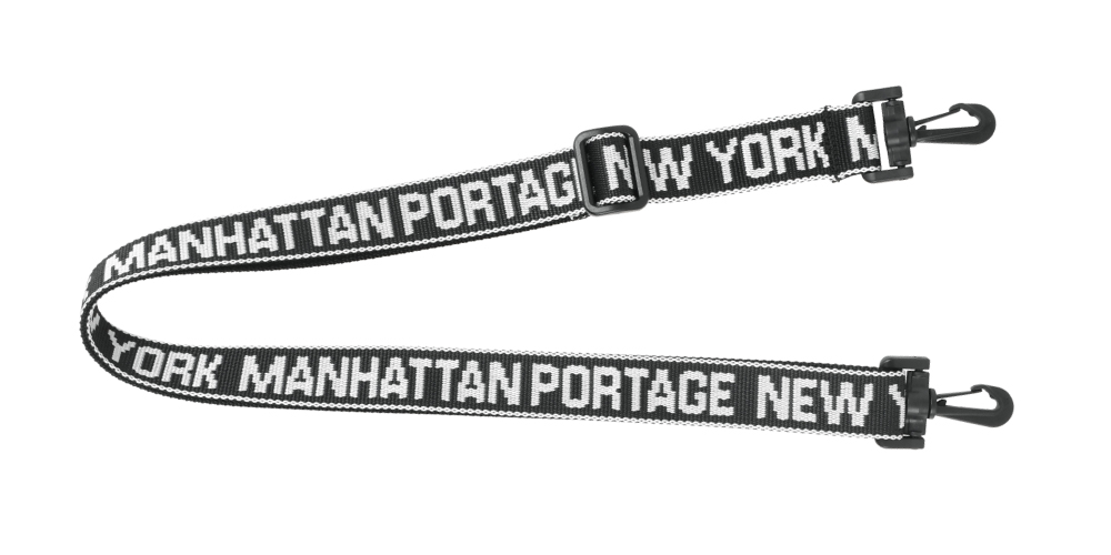 Black Manhattan Portage Adjustable Shoulder Strap