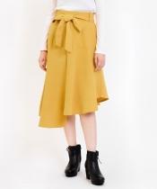 【WEB限定価格】ヘムライン切替スカート