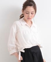 【WEB限定価格】○E脇リボンシャツ