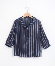 【WEB限定価格】サテンストライプシャツ