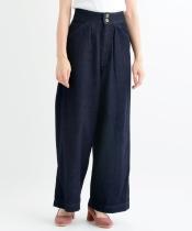 【WEB限定価格】バック編み上げデニムパンツ