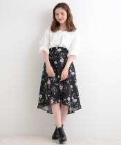 【WEB限定価格】ヴィンテージフラワースカート