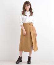 【WEB限定価格】スリット入りロングスカート
