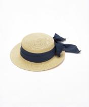 ビッグリボンカンカン帽