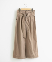 サークルバックル付ロングスカート