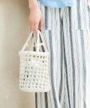 LAUGOA透かし編みバッグ