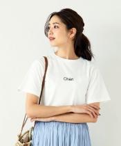 CHERIロゴプリントTシャツ