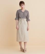 細リボンIラインスカート
