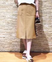 サイドポケットタイトスカート