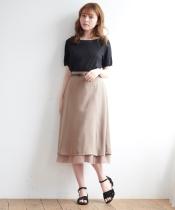 フェミヘムベルト付スカート