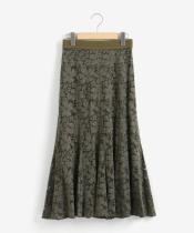 eclatレースマーメイドスカート