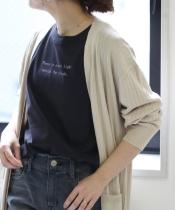 PoemロゴプリントTシャツ