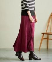 アンティークサテンマーメイドスカート
