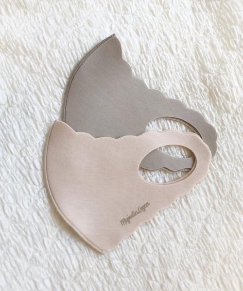 スカラップマスク
