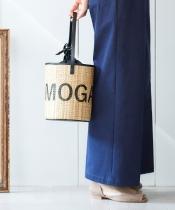 ロゴプリントポールバッグ