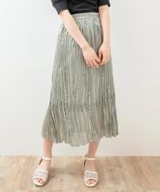 クリンクルシャイニースカート