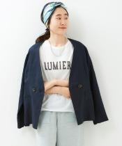 LUMIEREロゴプリントTシャツ