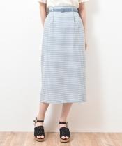 ヘルシーチェックIラインスカート