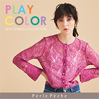 2019 SPRING COLLECTION -PLAY COLOR-