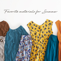 favorite materials for summer