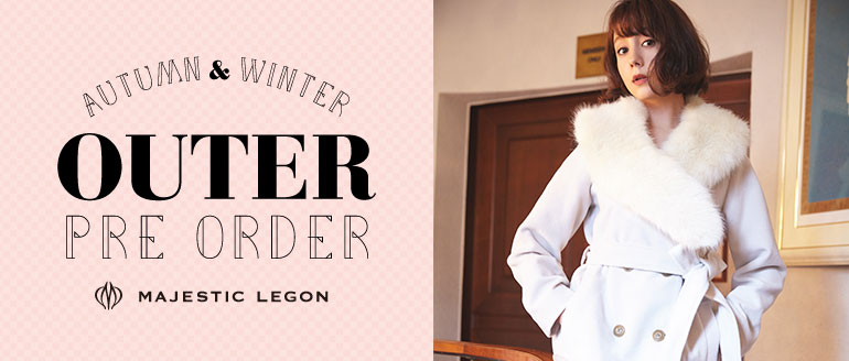 Autumn&Winter Outer Pre-Order MAJESTIC LEGON