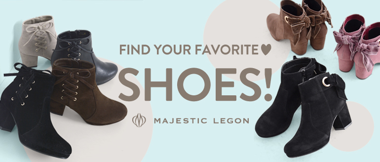FIND YOUR FAVORITE SHOES!