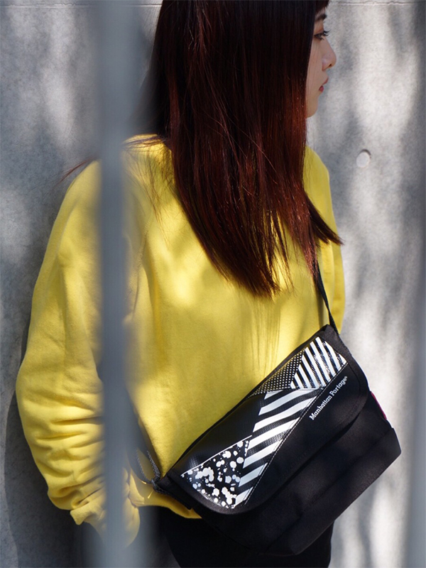 Dazzle Camouflage Casual Messenger Bag