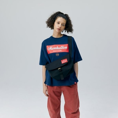 Metal Parts Buckle NY Messenger Bag JR【Official Online Store Limited】