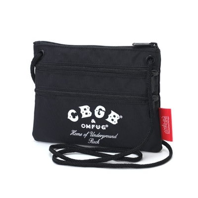 Triple Zipper Pouch CBGB