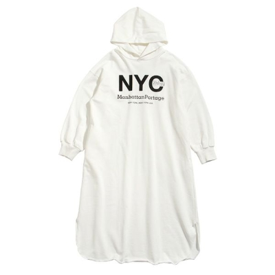 Long Sleeve Hoodie Dress(Women's)