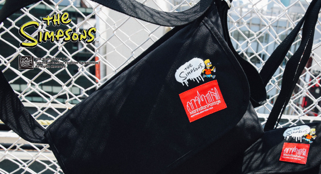 2019SS 新作 Manhattan Portage×The Simpsons 発売
