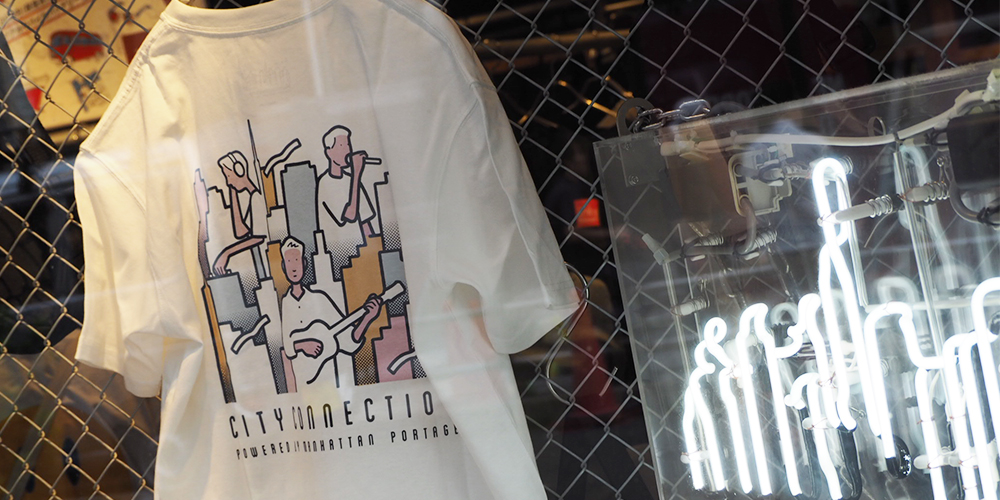 City Connection Tシャツ発売
