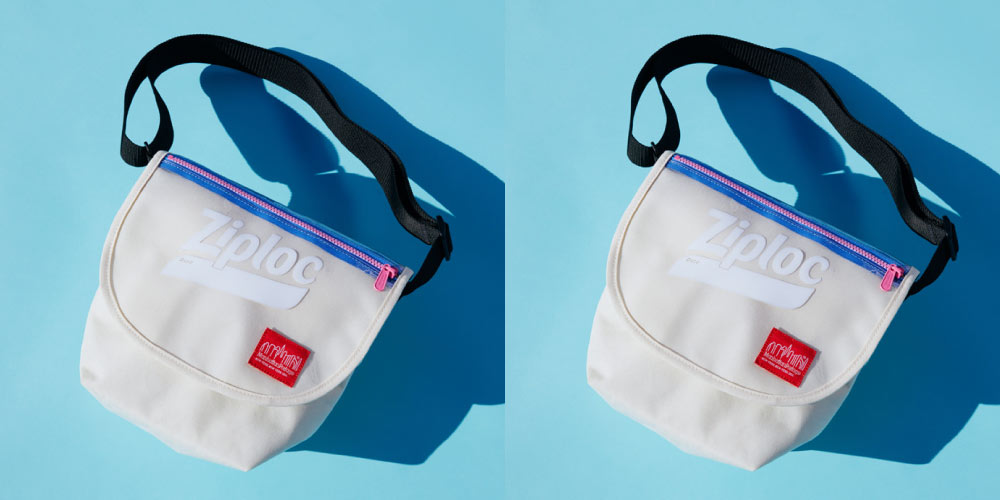 Manhattan Portage × BEAMS COUTURE × Ziploc(ジップロック)