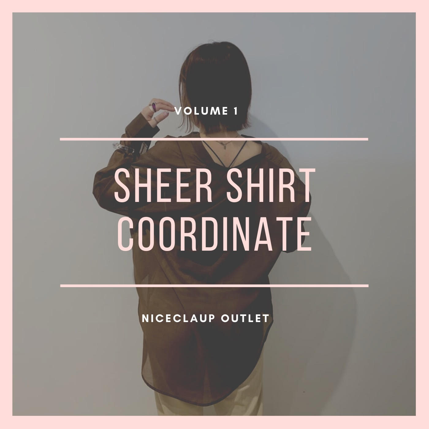 【Sheer  Blouse】