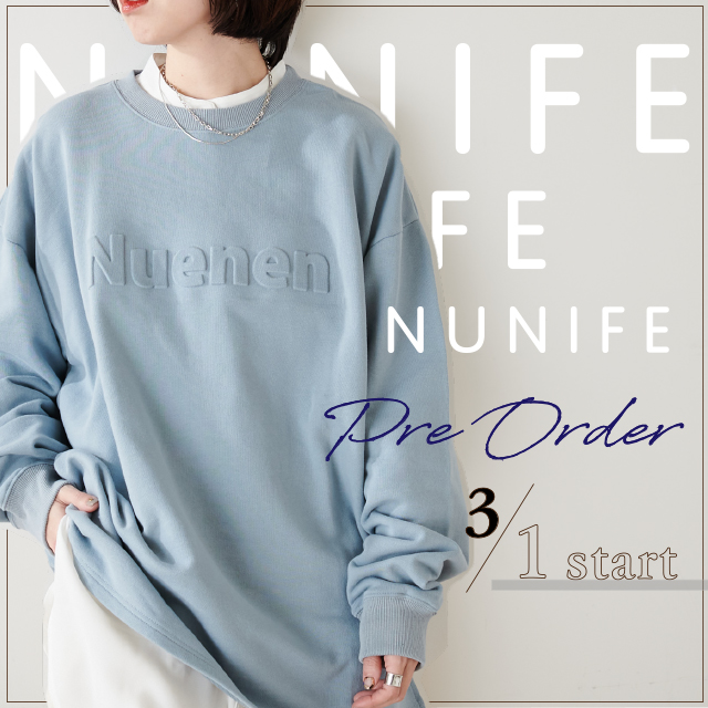 【NUNIFE/2nd collection】