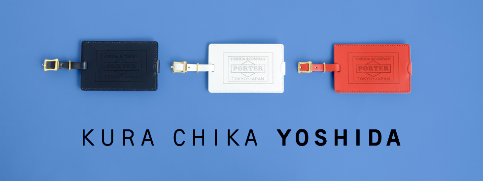 """bf541fab329a New colors of KURA CHIKA YOSHIDA exclusive """"LUGGAGE TAG"""" are to be released!"""
