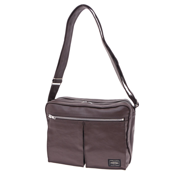5efd19e1a4 ... PORTER   FREE STYLE   SHOULDER BAG(L). PAGE BACK. PREV. NEXT. Black  Camel Brown White