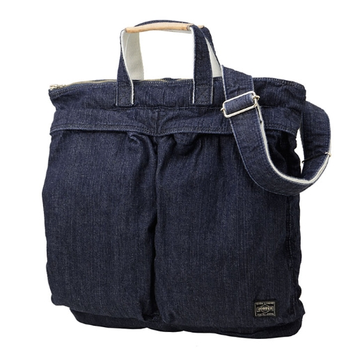 PORTER / JEAN / 2WAY HELMET BAG WASHED