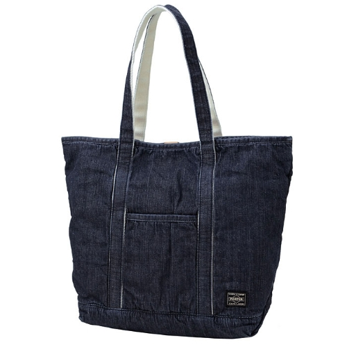 PORTER / JEAN / TOTE BAG(M) WASHED